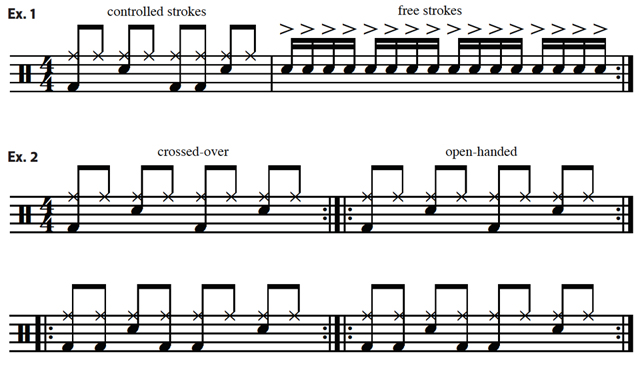 Drumming Tips - Things Every Beginner Should Learn for free stroke music sheet