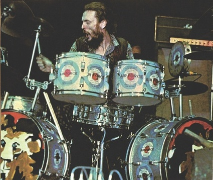 Ginger Baker added a new level of heaviness and ferocity to the double bass vocabulary.