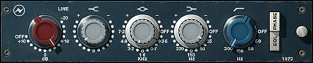 Fig. 12 The Neve 1073 is one of the most sought-after vintage units.