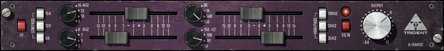 Fig. 8 The EQ section of the Trident A range was used on many of the most popular hits of the '70s.