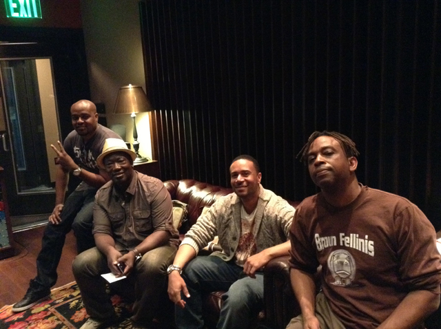 7. The band: (L-R) Michael Blankenship, Darryl Anders, Chase Martin, Kevin Carnes.